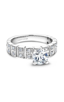 Noam Carver Modern Engagement Ring B008-02A product image