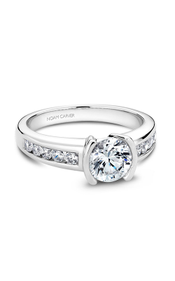 Noam Carver Modern Engagement ring B033-02A product image