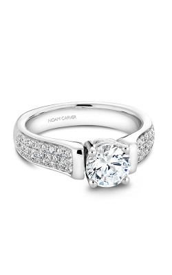 Noam Carver Engagement Ring Modern B042-02WM product image