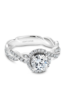 Noam Carver Engagement ring Twist Band B060-WM product image