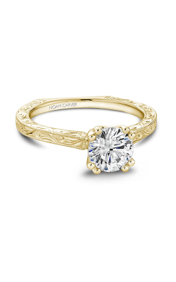 Noam Carver Classic Engagement ring B001-02YEA product image