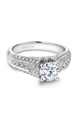 Noam Carver Vintage Engagement ring B055-01WM product image
