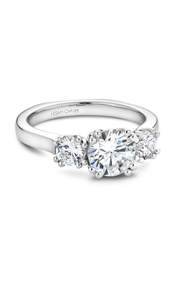 Noam Carver 3 Stone Engagement Ring B001-07A product image