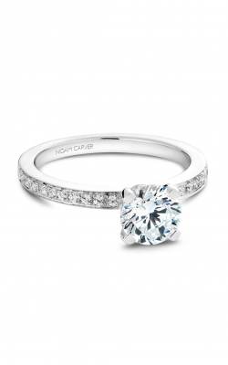 Noam Carver Engagement Ring Solitaire B012-01WM product image