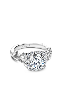 Noam Carver Floral Engagement ring B151-01A product image