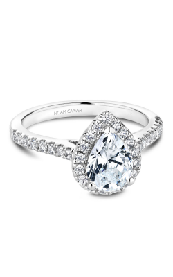 Noam Carver Halo Engagement ring B169-01WM product image
