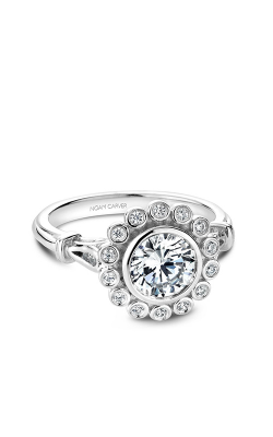 Noam Carver Floral Engagement Ring B170-01WM product image