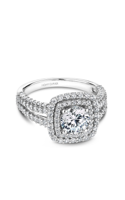 Noam Carver Halo Engagement ring B173-01WM product image