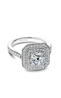 Noam Carver Halo Engagement ring B181-01WM product image