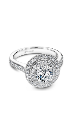 Noam Carver Halo Engagement Ring B183-01WM product image