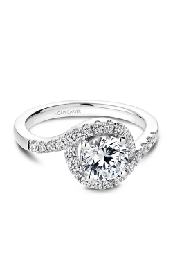Noam Carver Halo Engagement ring B186-01WM product image