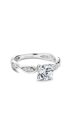 Noam Carver Floral Engagement Ring B197-01WM product image