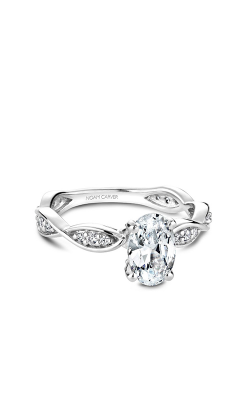 Noam Carver Engagement Ring Floral B197-02WM product image