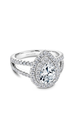 Noam Carver Halo Engagement ring B211-01WM product image
