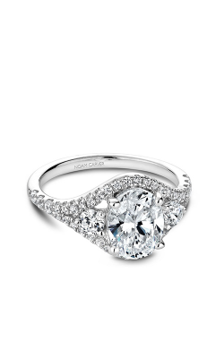 Noam Carver Engagement Ring Modern B212-01WM product image
