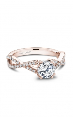 Noam Carver Modern Engagement Ring B004-03RA product image