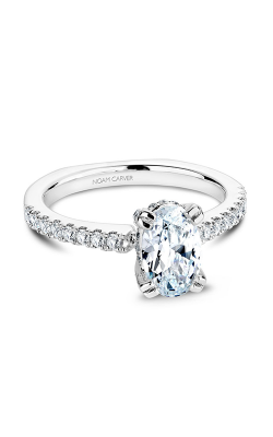 Noam Carver Engagement Ring Solitaire B009-02WM product image