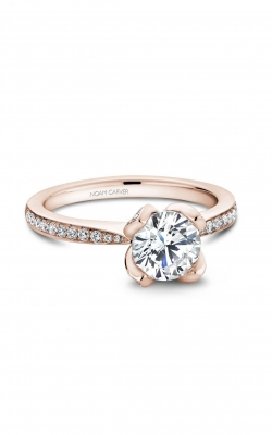 Noam Carver Floral Engagement ring B019-01RA product image