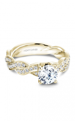 Noam Carver Engagement ring Twist Band B059-01YM product image