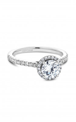 Noam Carver Halo Engagement ring B142-05WM product image