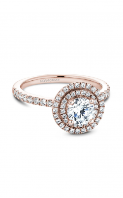Noam Carver Halo Engagement ring B142-07RM product image