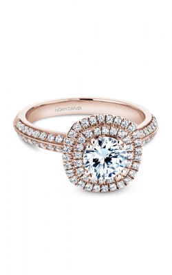 Noam Carver Halo Engagement ring B144-08RM product image