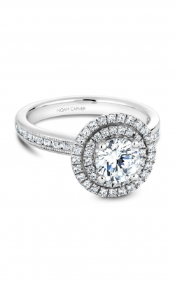 Noam Carver Halo Engagement ring B145-07WM product image