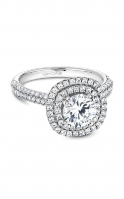 Noam Carver Halo Engagement ring B146-08WM product image