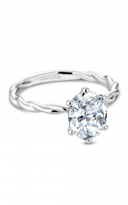 Noam Carver Engagement Ring Twist Band B167-01WM product image