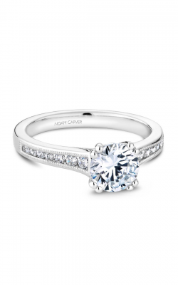 Noam Carver Engagement Ring Solitaire B203-01WM product image