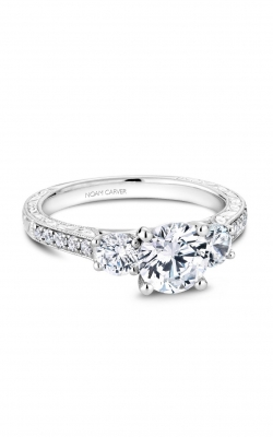 Noam Carver 3 Stone Engagement Ring B206-01A product image