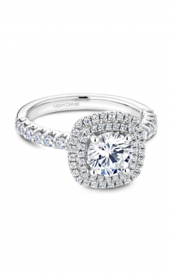 Noam Carver Halo Engagement ring B222-01WM product image