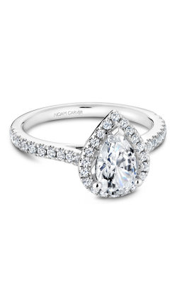Noam Carver Halo Engagement ring R050-03WM product image