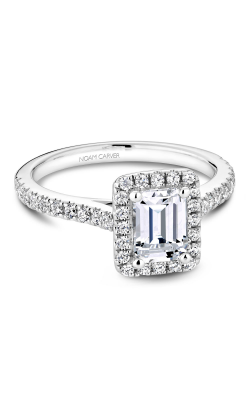 Noam Carver Halo Engagement Ring R050-04WM product image