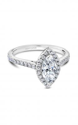Noam Carver Halo Engagement ring R050-07WM product image