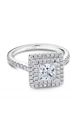 Noam Carver Halo Engagement ring R051-06WM product image