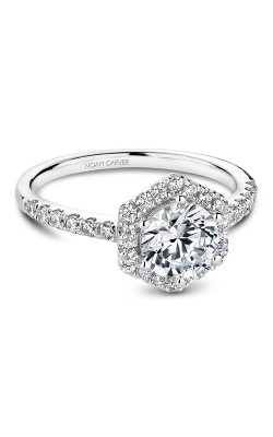 Noam Carver Halo Engagement Ring B214-01WM product image