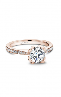 Noam Carver Floral Engagement ring B019-01WM product image