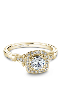 Noam Carver Halo Engagement ring B076-01YM-01A product image