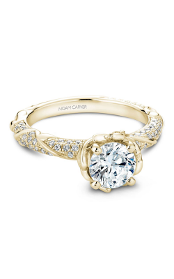 Noam Carver Floral Engagement ring B081-02YM product image