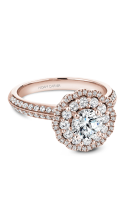 Noam Carver Floral Engagement ring B144-16RM product image