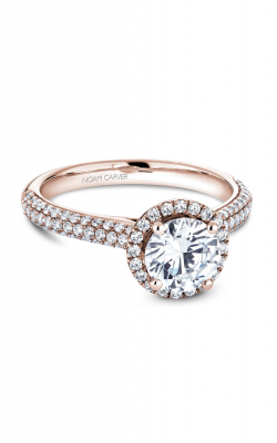 Noam Carver Halo Engagement Ring B146-05RM product image