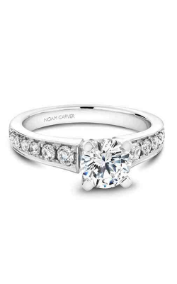 Noam Carver Engagement Ring Solitaire B006-02WM product image
