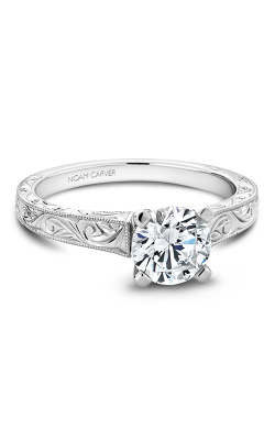 Noam Carver Engagement Ring Solitaire B006-03WM product image