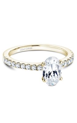 Noam Carver Engagement Ring Solitaire B017-02YM product image