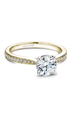 Noam Carver Engagement Ring Solitaire B018-02YWM product image