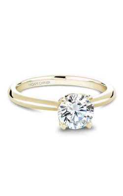 Noam Carver Engagement Ring Solitaire B027-03YM product image