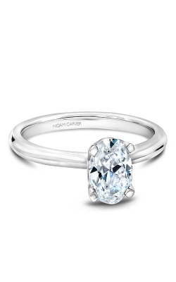 Noam Carver Engagement Ring Solitaire B027-04WM product image