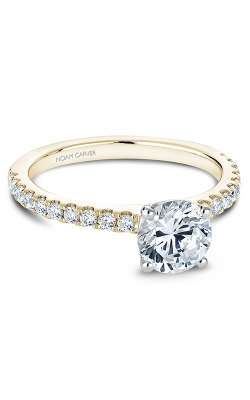 Noam Carver Engagement Ring Solitaire B101-01YM product image