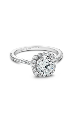Noam Carver Engagement Ring Halo B007-02WM product image